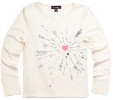 Imoga Heart & Arrow Graphic Jersey Tee, White, Size 2-6