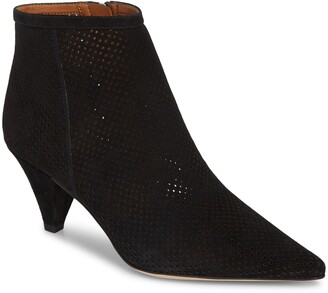 Franco Sarto Bobbi Perforated Pointy Toe Bootie