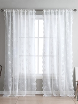 Kensie Ava Lace Pole Top Window Panels (Set of 2)