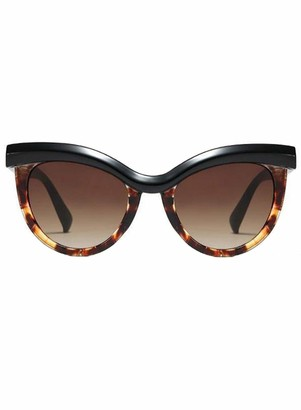 Dokotoo Women's Cat Eye Sunglasses with Leopard Print - Multicolour - One size