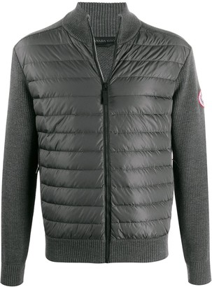 Canada Goose Padded Knitted Jumper