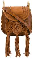 Chloé Small Brown Hudson Tassel Shoulder Bag - women - Leather/Suede/Calf Suede - One Size