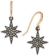 INC International Concepts Two-Tone Pavandeacute; Star Drop Earrings, Created for Macy's