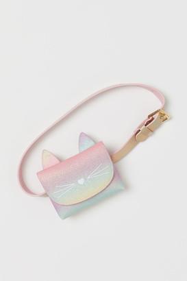 H&M Glittery Belt Bag - Pink