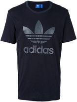 adidas Trefoil logo print T-shirt - men - Cotton - M