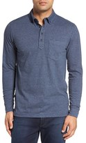 Nordstrom Brushed Jersey Polo (Regular & Tall)
