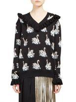 Stella McCartney Swan Knit Virgin Wool Sweater
