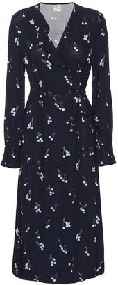 Baum und Pferdgarten Annamay cherry-print midi dress