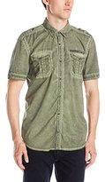 Buffalo David Bitton Men's Safic Short Sleeve Button Down Shirt