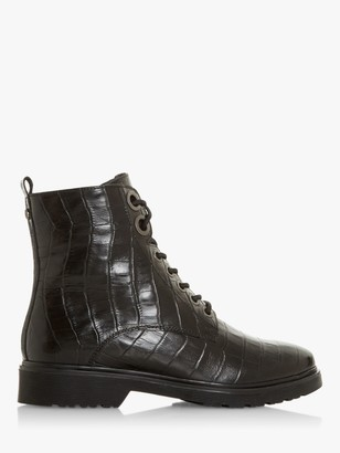 Dune Parkland Leather Ankle Boots