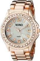 XOXO Women's XO5560 Rose Gold-Tone Bracelet Analog Watch