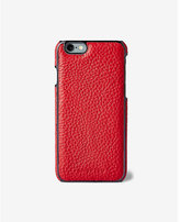 Express Adopted Red Leather Wrap Case For Iphone 6