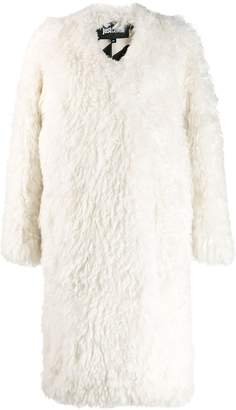 Just Cavalli oversized open coat