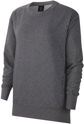 Nike Dri-FIT Get Fit Fleece Training Crew Neck Sweater