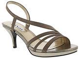Nina Neely Glitter Vinyl Open-Toe Sandals