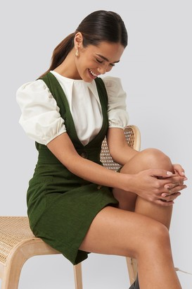 Trendyol Buttoned Gilet Mini Dress
