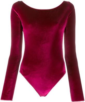 Oseree Textured Effect Bodysuit