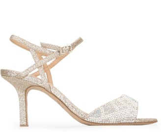 Badgley Mischka Fawna embellished sandals