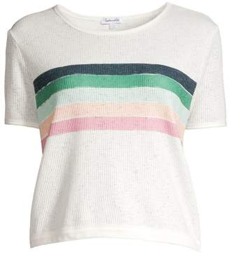 Splendid Looseknit Stripe Tee