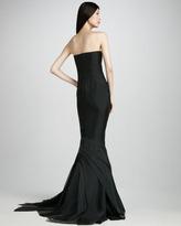 J. Mendel Beaded Fishtail Gown