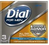 Dial for Men Antibacterial Soap Bars Odor Armor