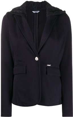 Liu Jo Lace Hooded Jacket