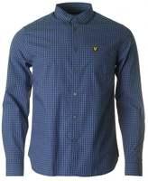 Lyle & Scott Long Sleeved Gingham Shirt