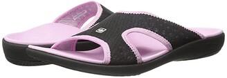 Spenco Kholo Breeze (Black/Pink) Women's Shoes