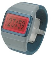 o.d.m. Unisex SDD99B-13 Link Series Gray with Red screen Programmable Digital Watch