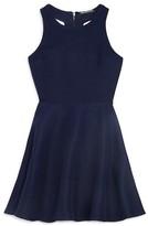 Miss Behave Girls' T Back Jacquard Dress - Sizes 8-16