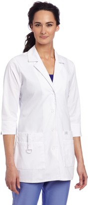 Dickies Scrubs Women's Junior Fit 3/4 Sleeve Lab Coat