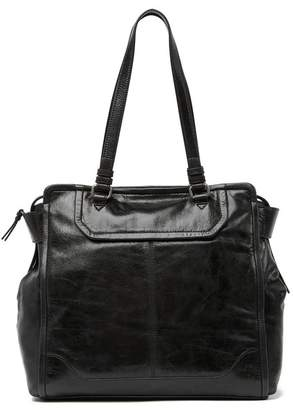 Frye Mel Leather Tote Bag
