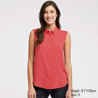 Uniqlo WOMEN Rayon Sleeveless Blouse