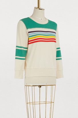 Mother The Matchbox striped sweatshirt