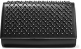 Christian Louboutin Paloma Studded Leather Clutch - Black