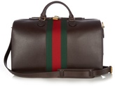 Gucci Grained-leather holdall