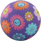 "Crocodile Creek Flowers Purple Playground Ball 7"""