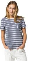 Tommy Hilfiger Final Sale- Chambray Stripe Top