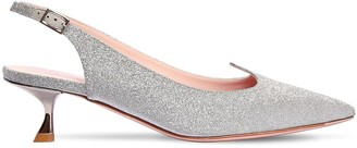 Roger Vivier 45mm I Love Vivier Slingback Pumps