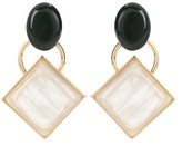 Marni Metal and horn earrings