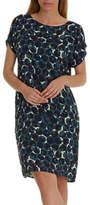 Betty Barclay Betty & Co Graphic Print Dress, Dark Sapphire