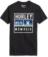 Hurley Men's Graphic-Print Logo T-Shirt
