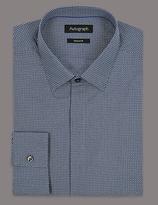 Autograph Supima® Tailored Fit Pure Cotton Shirt