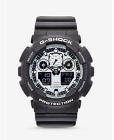 Express g-shock extra large gray and silver watch