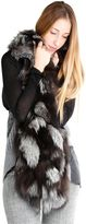 S.W.O.R.D. Woman Fur Vest With Back Wool
