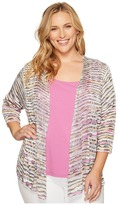Nic+Zoe Plus Size Desert Valley Cardy Women's Sweater