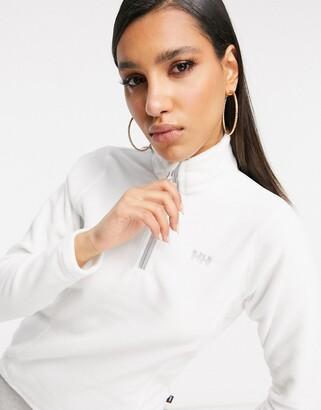 Helly Hansen Daybreaker 1/4 zip fleece in white