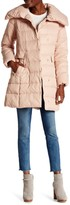 Cole Haan Quilted Down Longline Jacket