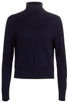 The Row Chanic Cashmere & Wool Turtleneck Top