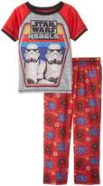 "Star Wars Little Boys' ""Storm Trooper Pair"" 2-Piece Pajamas"